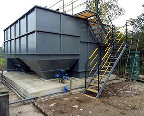 环保设备叠螺式污泥脱水机解决生活污水对环境的危害
